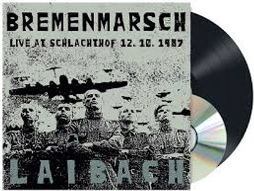 laibach - live at schlachthof 12.10.1987 (lp+cd)