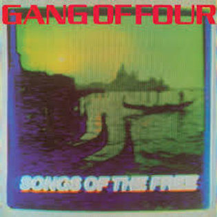 gang of four - songs of the free (splatter lp)