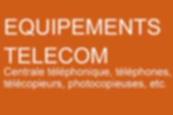 Financement équipements télécom