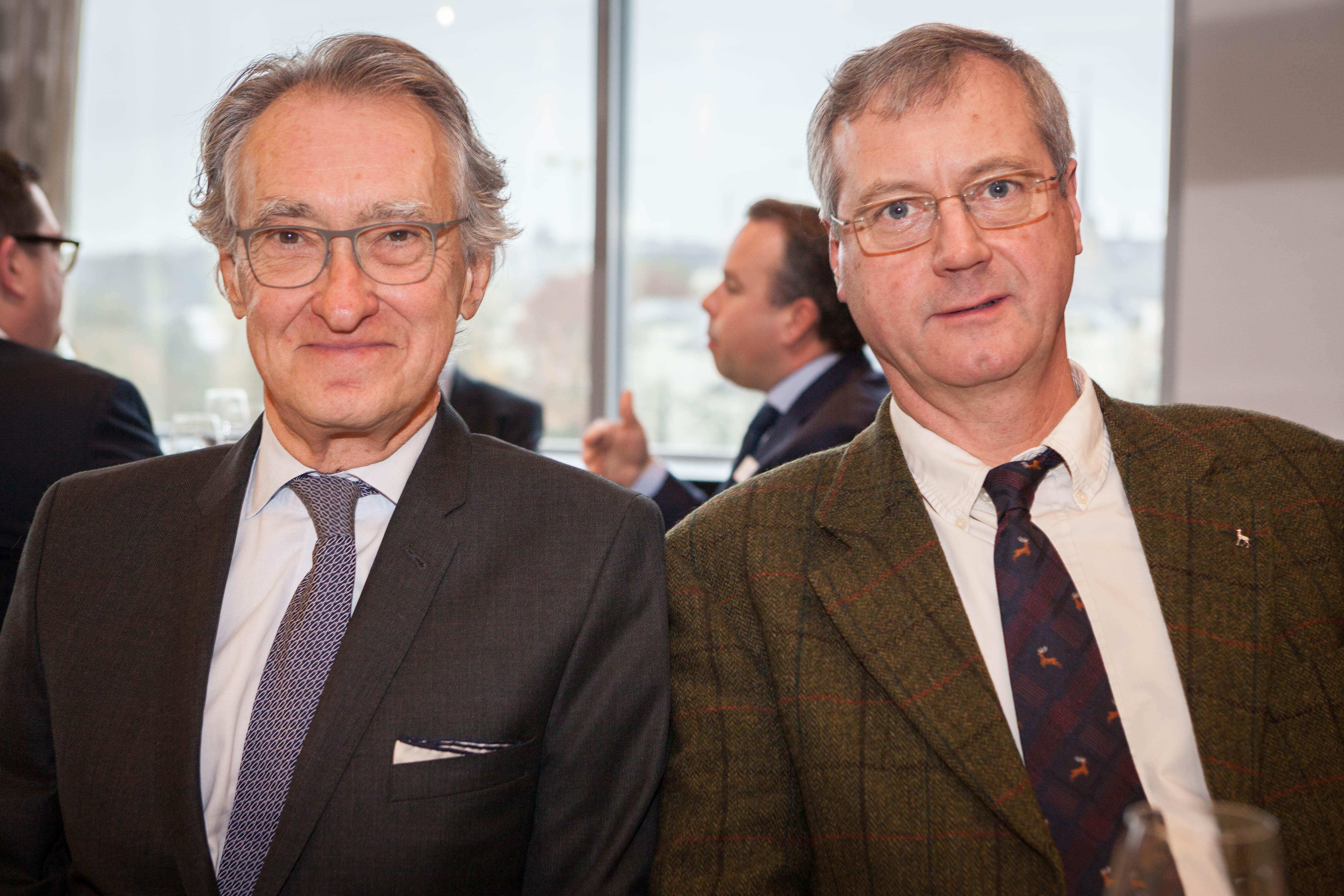 Philippe HAQUENNE et S.E. l'Ambassadeur de Belgique Thomas ANTOINE