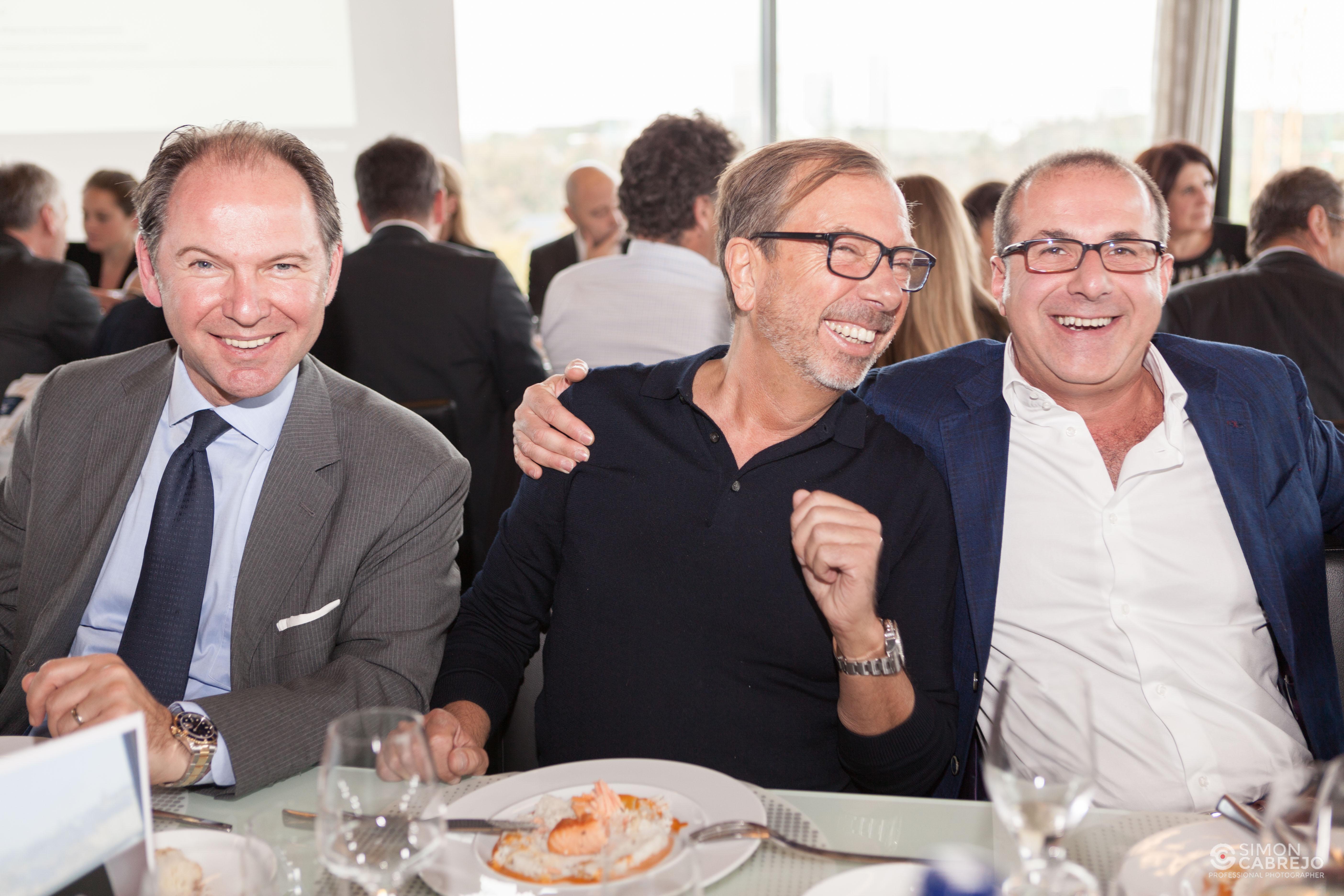 Frank CHRISTIAENS, Alain BERWICK et Nikolas SOFRONIS