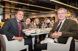 Monsieur le Premier Ministre Xavier BETTEL et S.E. l'Ambassadeur de Belgique Thomas ANTOINE