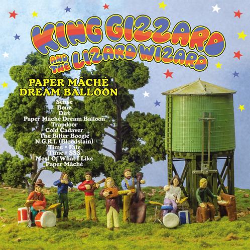 King Gizzard and The Lizard Wizard Paper Mache Dream Balloon