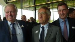 Philippe MAMOLAR SOMALO, Consul de Belgique, Philippe HAQUENNE et Rudi LEMEER