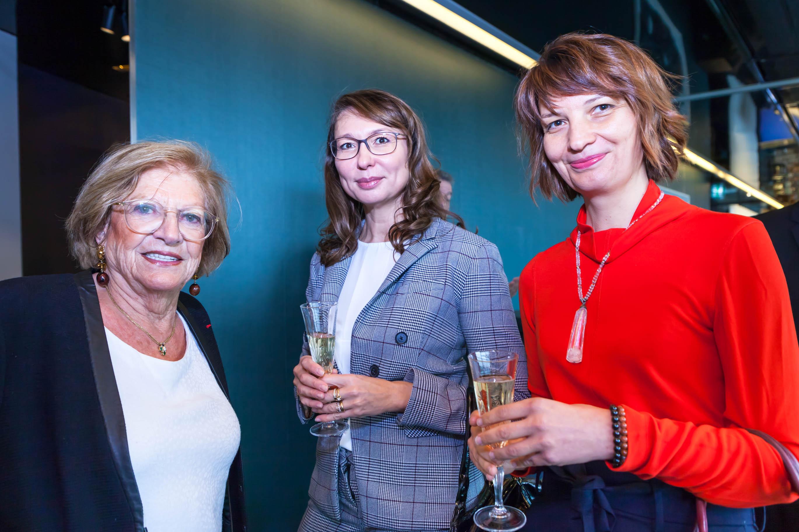 Claire VANNIER, Irina SIMONCINI et Sylvi