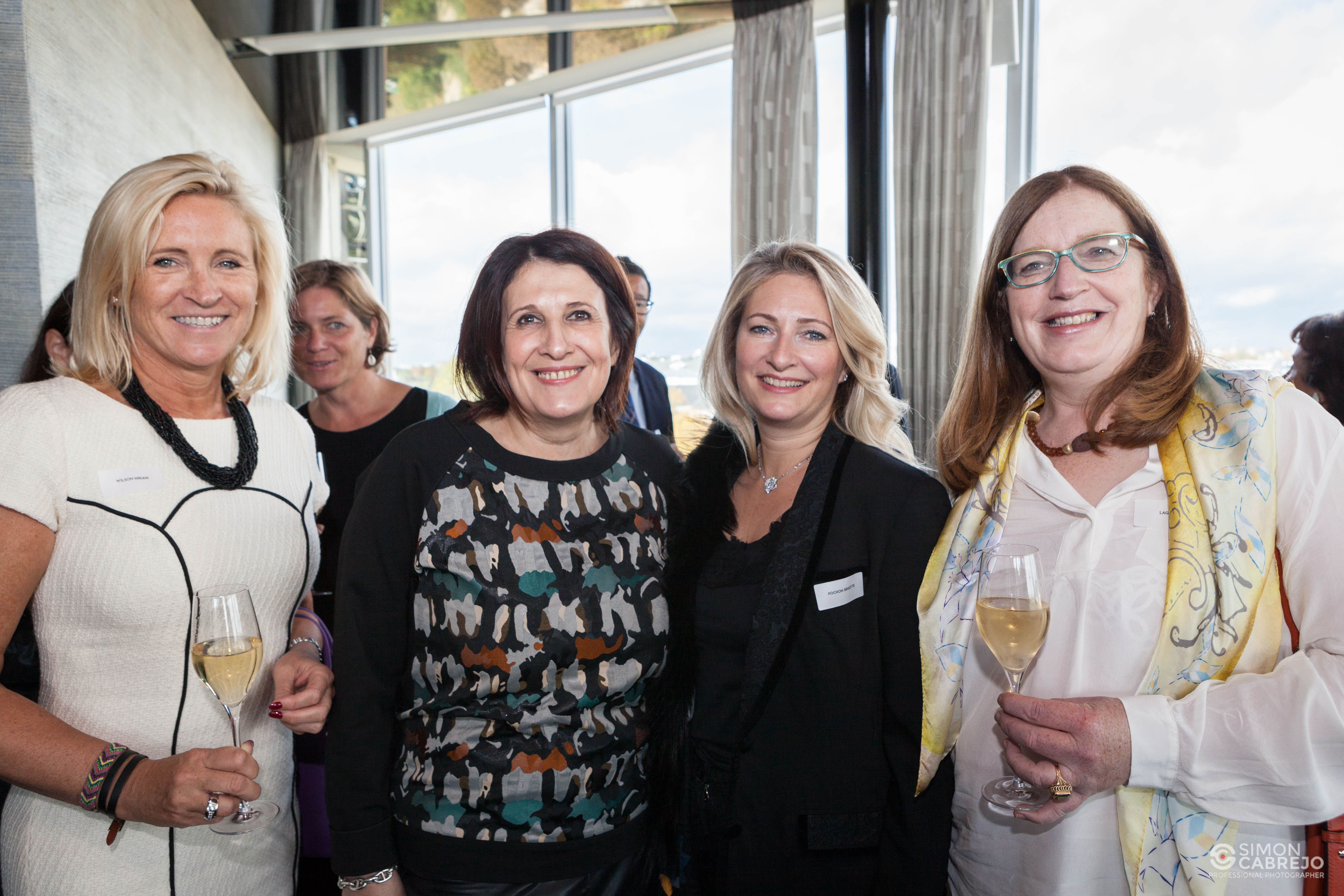Miriam WILSON, Maria PIETRANGELI, Brigitte POCHON et Lut LAGET