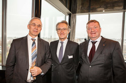 Charlie EMOND, Philippe HAQUENNE et Marc BOLAND
