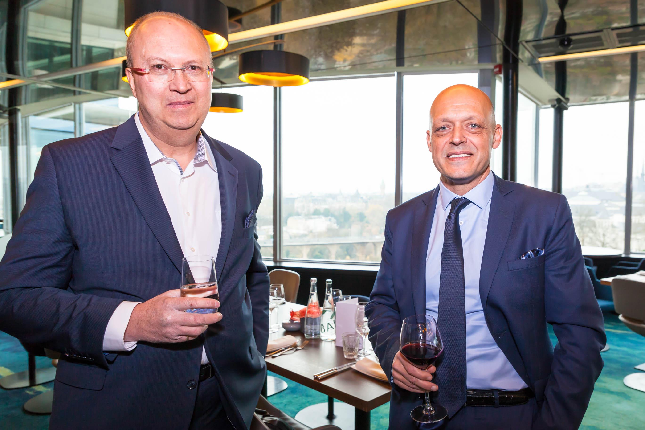 Hugues OOSTERBOSCH et Fabien ZUILI