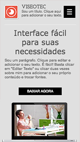Tecnologia e Aplicativos website templates – Landing Page de Novo Software