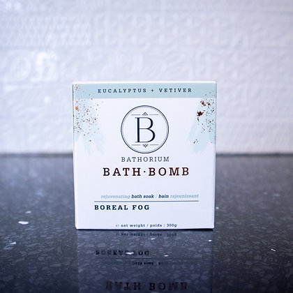 Bathorium Bath Bomb - Boreal Fog