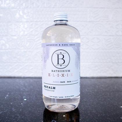 Bathorium Elixir - Be Calm Lavender & Earl Grey Bubble Bath