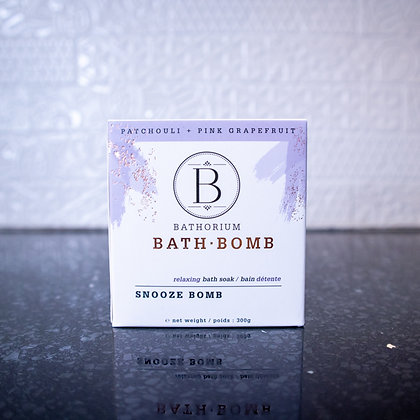 Bathorium Bath Bomb - Snooze Bomb