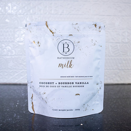 Bathorium Milk - Coconut and Bourbon Vanilla