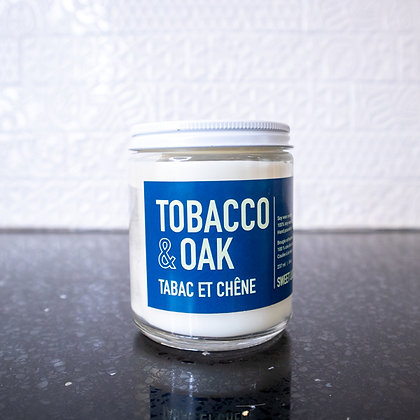 Sweet Lily & Co. - Tobacco & Oak Soy Wax Candle
