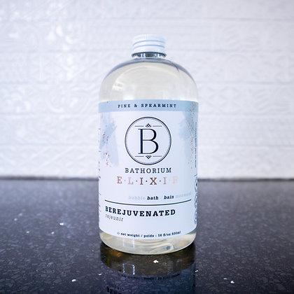 Bathorium Elixir - Be Rejuvenated Pine & Spearmint Bubble Bath