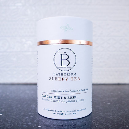 Bathorium Sleepy Tea - Garden Mint & Rose Bath Tea