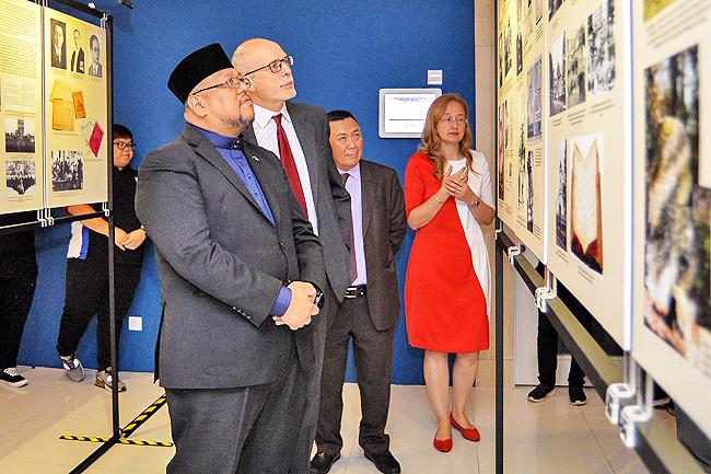 Exhibit showcases Tatar Muslim's unique culture