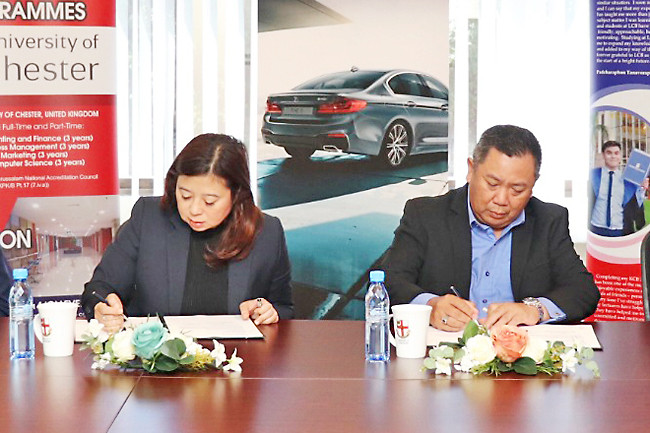 LCB signs on as partner to BMW Corporate Programme