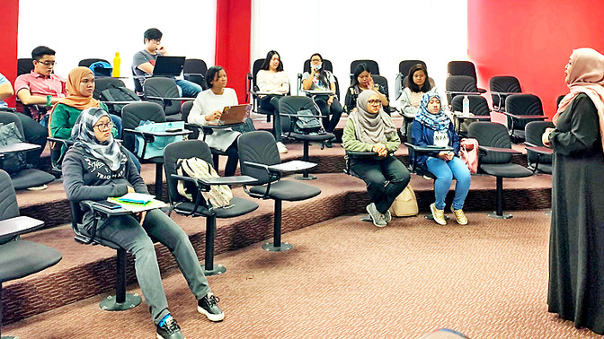 Hospitality, tourism students learn more about event management