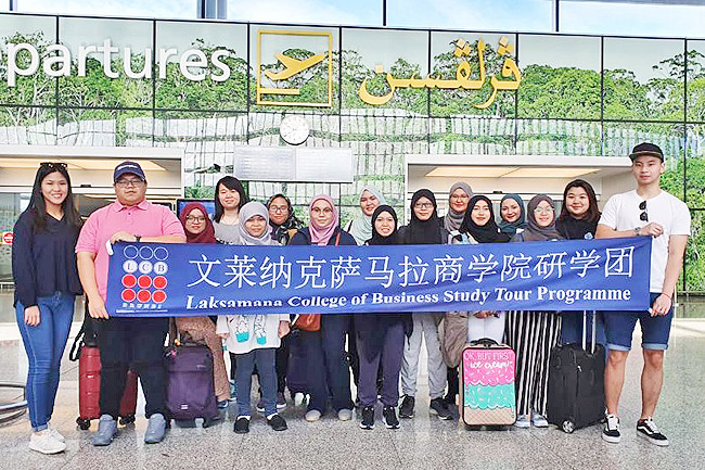 LCB students in Nanning for Study Tour Programme