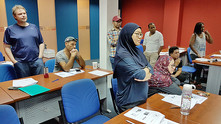 Staff, lecturers undergo basic HSE training