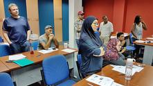 Staff, lecturers undergo basic HSE training