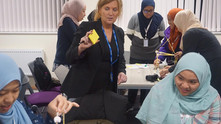 Trip gives students first-hand UK experience
