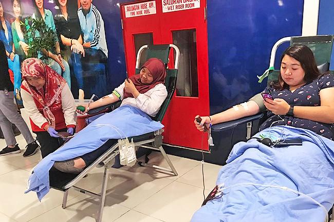 Saving lives through blood donation