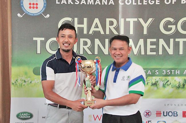 LCB golf tourney crowns new champion