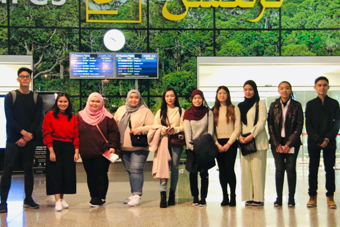 Students leave for UK Synergy Alliance trip