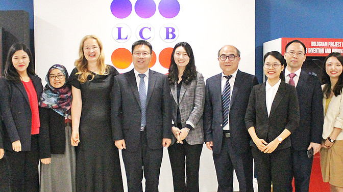 LCB hosts Chinese university delegates