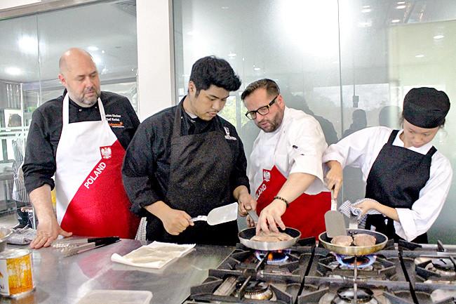 Chefs teach ABCs of Polish dishes