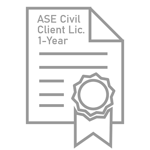 ASE Civil Enterprise License