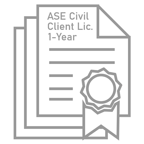ASE Civil Enterprise License Bundle (3-Pack)