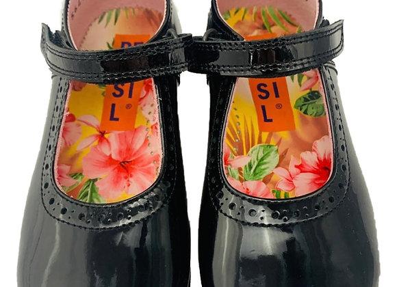 Patent velcro shoe