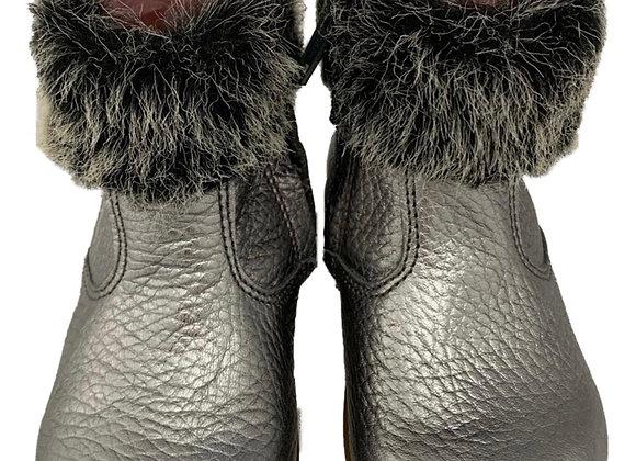 Toddler girls fur boots