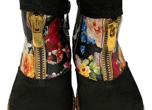 Orthopaedic floral boots