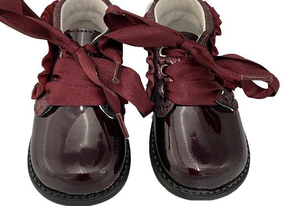Satin bow Toddler shoe