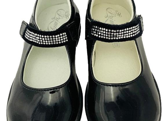 Diamond velcro patent shoe