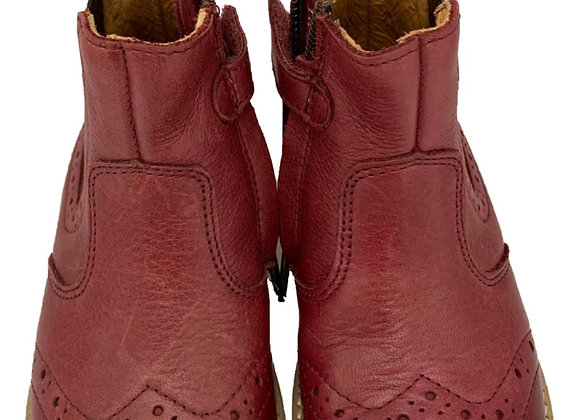 Red girls Chelsea boot