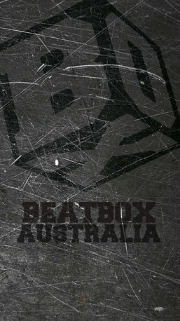 Beatbox Australia Metalic Texture For Smart Phone (cube with text)