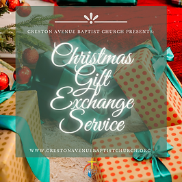 Christmas Gift Exchange Flyer