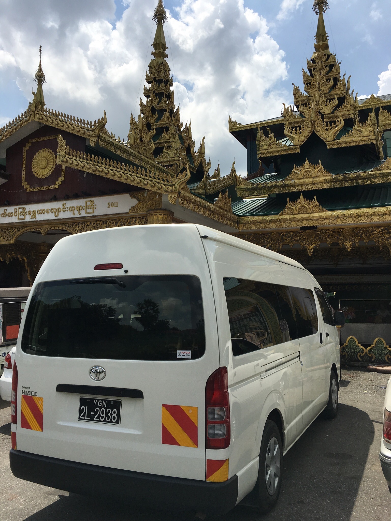 14 Seater van in Myanmar