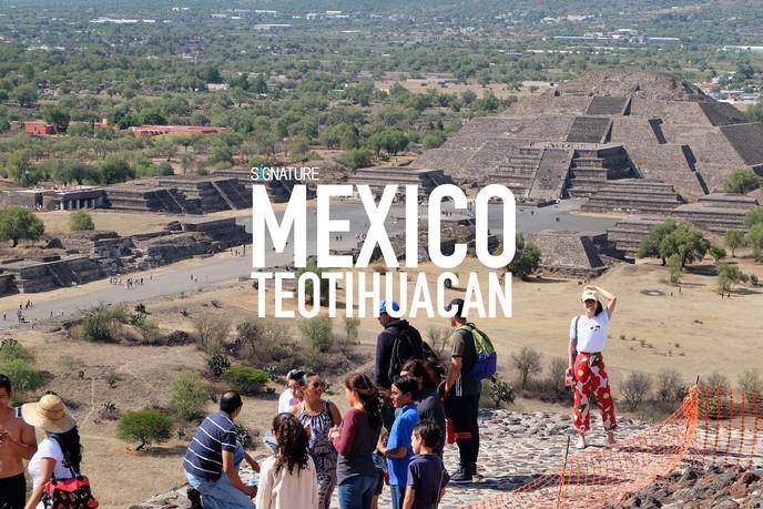 เม็กซิโกโรแมนติก: ตอนที่ 2 ปิรามิด ถนนแห่งความตายและเมืองที่สาบสูญ