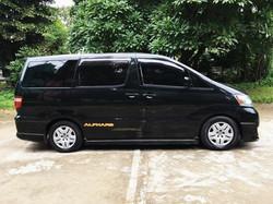 Toyota Alphard in Myanmar