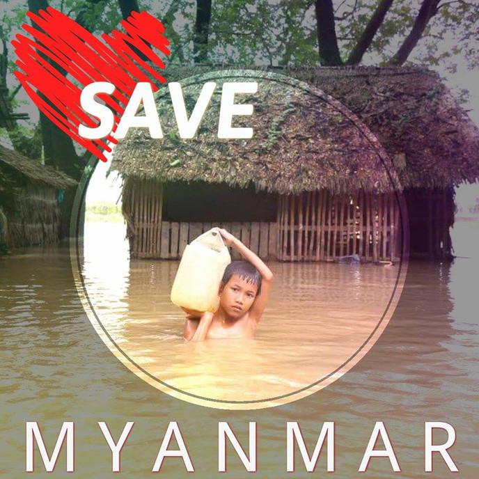 SAVE MYANMAR! ร่วมช่วยเหลือผู้ประสบภัยพายุไซโคลนโกเมนที่เมียนมาร์