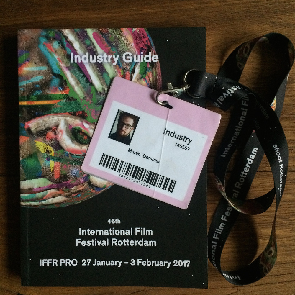 I visited all the Industry Panel´s at the IFFR Pro Days - the input was amazing