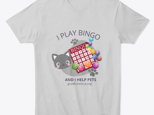 Love bingo? Love pets? Get the shirt!