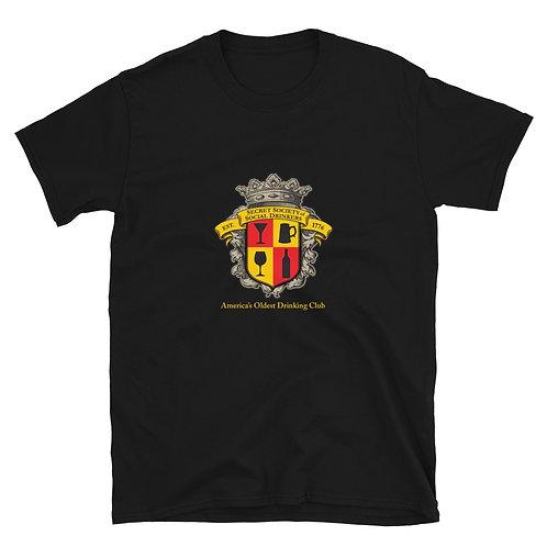3SD Logo Centered - Short-Sleeve Unisex T-Shirt