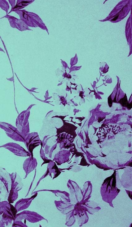Imprimer Fleur bleue